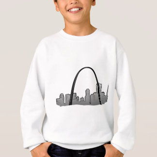 St Louis Skyline Drawing Sweatshirt