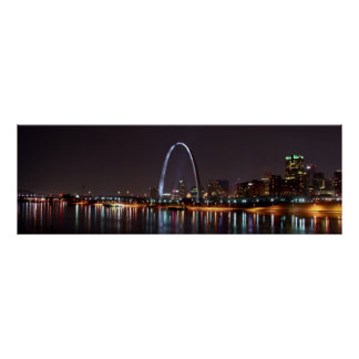 St. Louis Skyline Poster