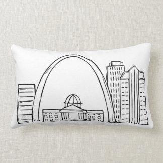 St. Louis Throw Pillow - Original Artwork