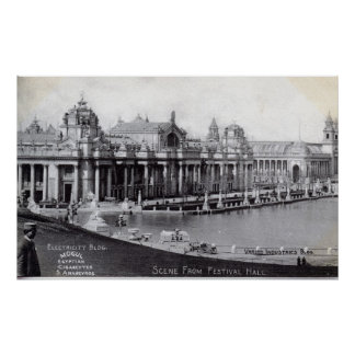 St. Louis World's Fair 1904 Vintage Poster