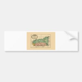 St Lucia 1758 Bumper Sticker