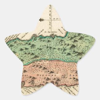 St Lucia 1758 Star Sticker