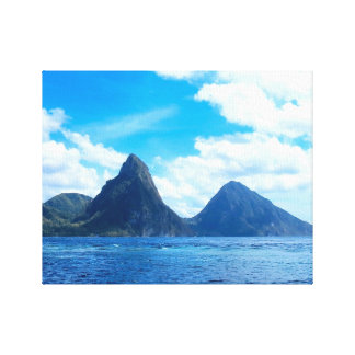 St. Lucia canvas wall art Gallery Wrap Canvas