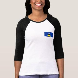 St Lucia Flag T-Shirt