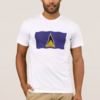 St Lucia flag T-Shirt