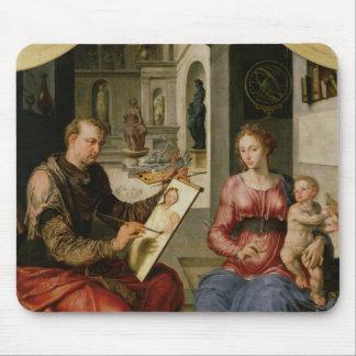 St. Luke Painting the Virgin, c.1545 Mouse Pad