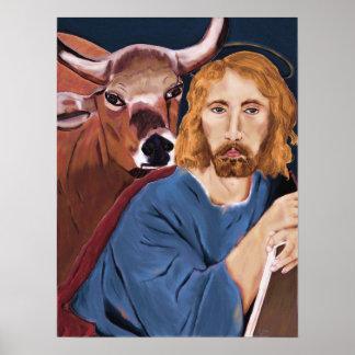 St. Luke Poster