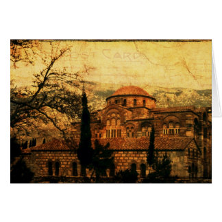 St Lukes Monastery Card