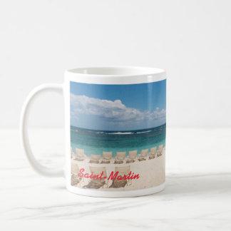 St. Maarten Caribbean Beach Mug