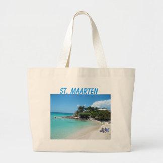 St. Maarten Large Tote Bag