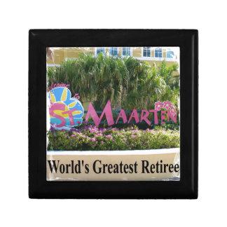 St. Maarten Sign Gift Box