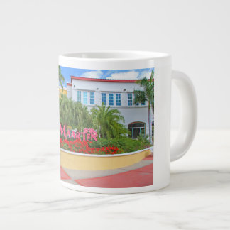 St. Maarten, Welcome sign, photography, Dutch Large Coffee Mug