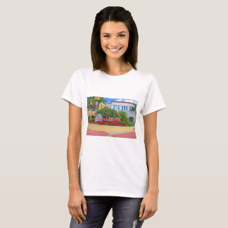 St. Maarten, Welcome sign, photography, Dutch T-Shirt