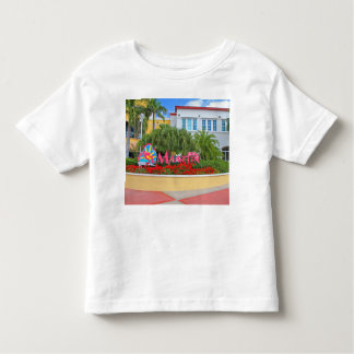 St. Maarten, Welcome sign, photography, Dutch Toddler T-Shirt