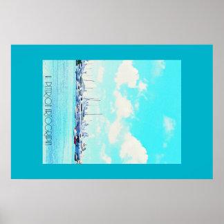 St. Maarten Yacht Clubs Poster