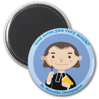 St. Marcellin Champagnat 6 Cm Round Magnet