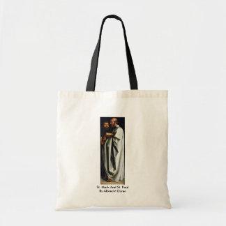 St. Mark And St. Paul By Albrecht Dürer Tote Bag