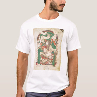 St. Mark, from a gospel from Corbie Abbey T-Shirt