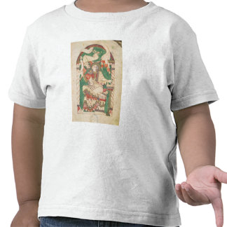 St. Mark, from a gospel from Corbie Abbey Tee Shirts