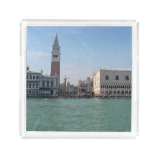 St. Mark's Square from the Grand Canal Acrylic Tray