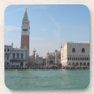 St. Mark's Square from the Grand Canal Drink Coaster