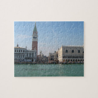 St. Mark's Square from the Grand Canal Jigsaw Puzzle