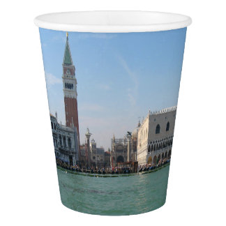 St. Mark's Square from the Grand Canal Paper Cup