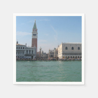 St. Mark's Square from the Grand Canal Paper Serviettes