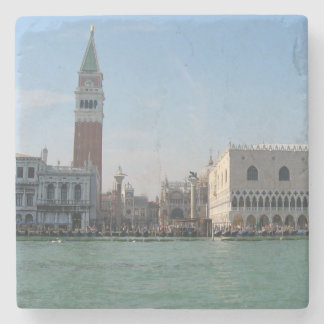 St. Mark's Square from the Grand Canal Stone Beverage Coaster