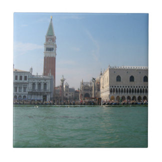 St. Mark's Square from the Grand Canal Tile