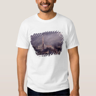 St. Mark's Place, Venice (Moonlight) engraved by G Shirts