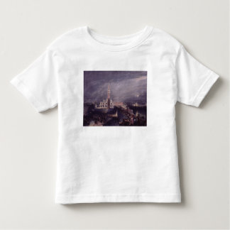 St. Mark's Place, Venice (Moonlight) engraved by G T Shirt
