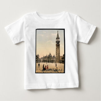 St. Mark's Place, with campanile, Venice, Italy cl Shirts