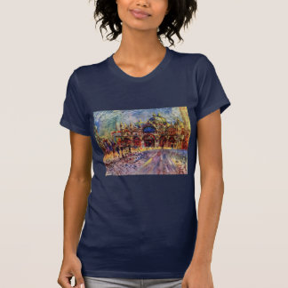 St. Mark'S Square In Venice By Pierre-Auguste Tees
