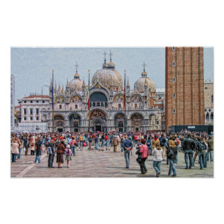 St. Mark's Square (Piazza San Marco) Venice Italy Poster