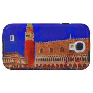St Mark's Square Piazzetta painting Galaxy S4 Case