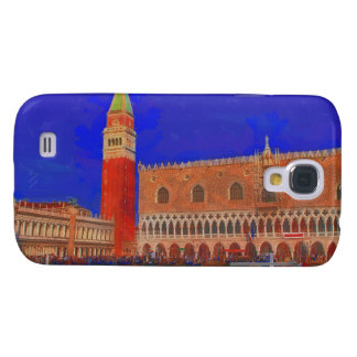 St Mark's Square Piazzetta painting Galaxy S4 Cover
