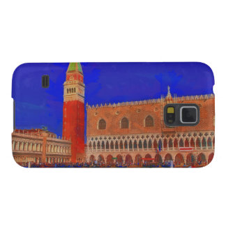 St Mark's Square Piazzetta painting Galaxy S5 Covers