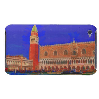 St Mark's Square Piazzetta painting iPod Touch Cases