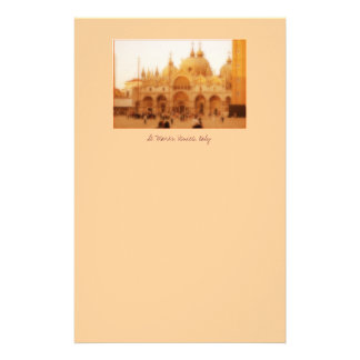 St. Marks, Venice, Italy Personalized Stationery