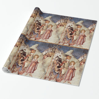 ST MARTIN RENOUNCES THE ARMY WRAPPING PAPER
