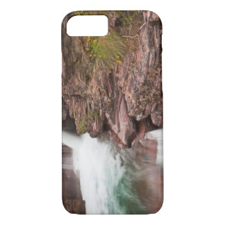St Mary Falls in Glacier National Park in iPhone 7 Case