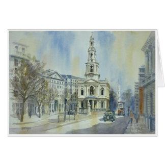 St Mary le Strand London Card
