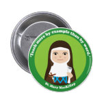 St. Mary MacKillop 2 Inch Round Button
