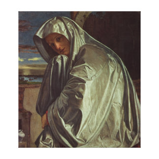 St. Mary Magdalene Approaching the Sepulchre Canvas Print