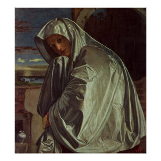St. Mary Magdalene Approaching the Sepulchre Poster