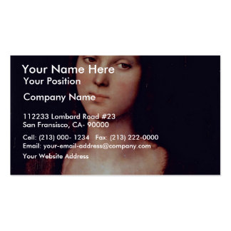 St. Mary Magdalene By Perugino Pietro Pack Of Standard Business Cards