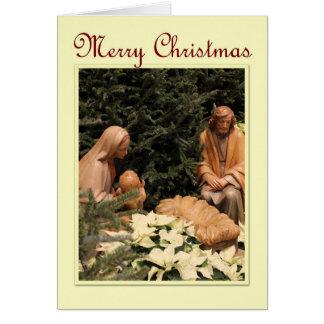 St. Mary Parish - Manger Christmas Card