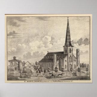 St Mary's Catholic Church Poster