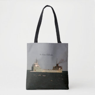 St. Marys Challenger all over tote bag